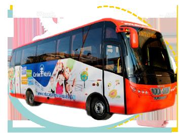 Autobús Transporte escolar en León - Carlos María